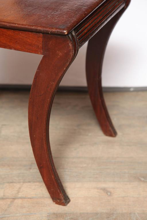 Regency Hall Chair by Gillows of Lancaster For Sale 1