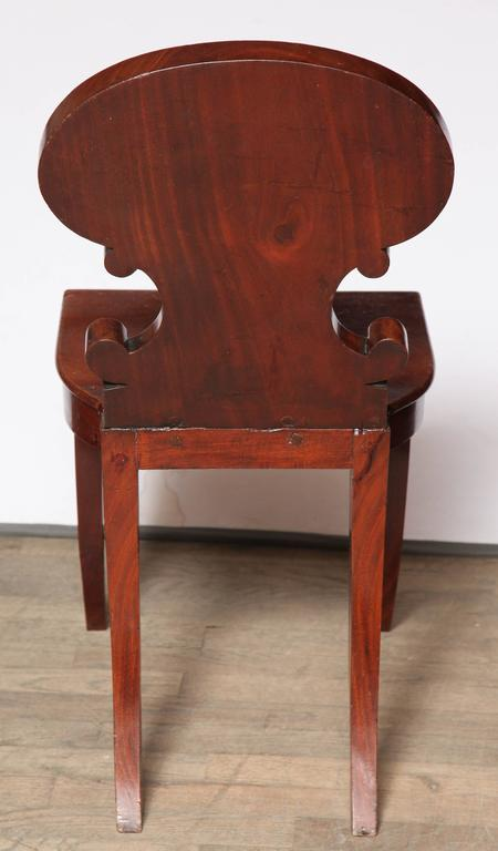 Regency Hall Chair by Gillows of Lancaster For Sale 3