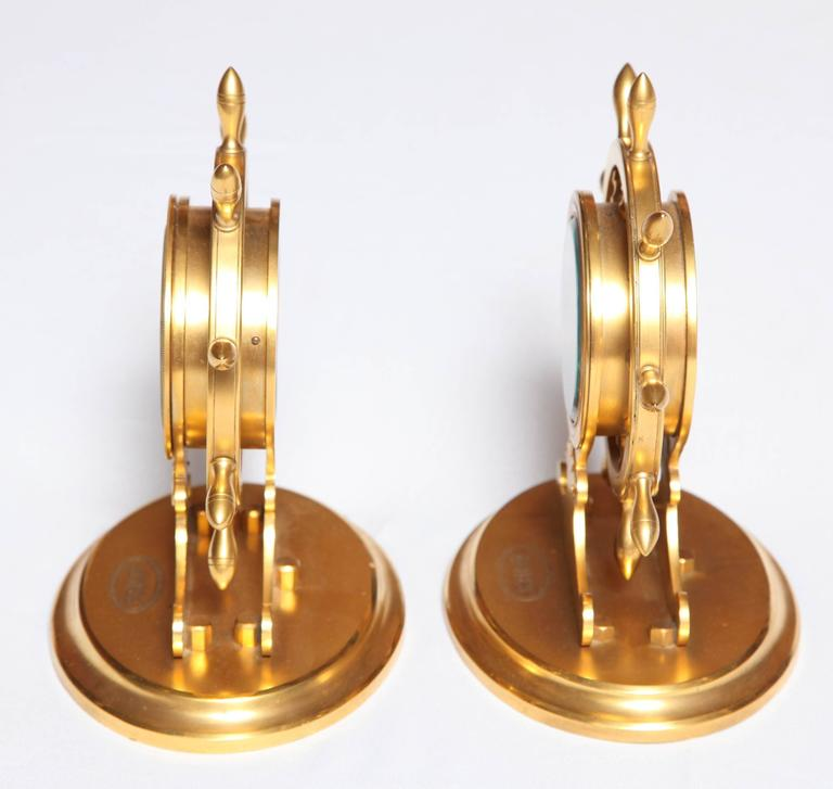 Trussel of Brighton Clock and Barometer In Excellent Condition For Sale In New York, NY