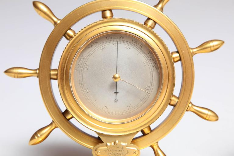 Trussel of Brighton Clock and Barometer For Sale 4