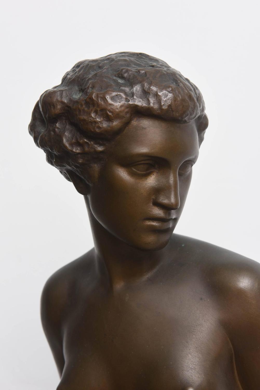 Mariella- Nude Female Statue, Glazed, STU-Home