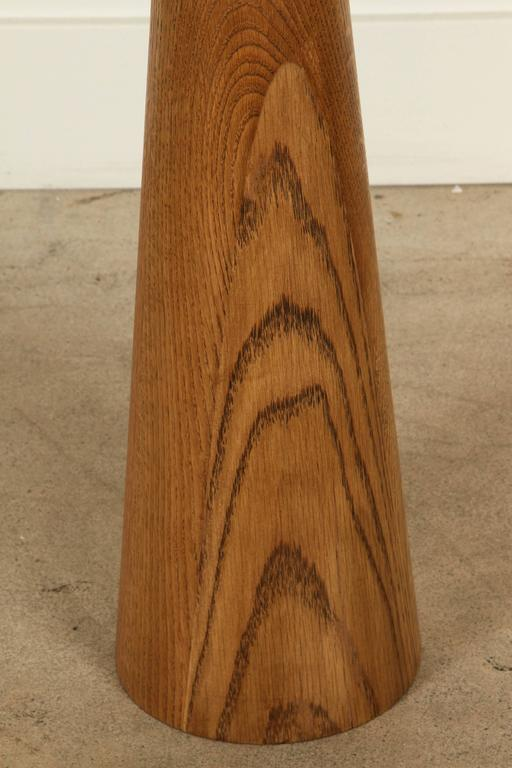 El Monte Lamp by Lawson-Fenning in Oak In Excellent Condition For Sale In Los Angeles, CA