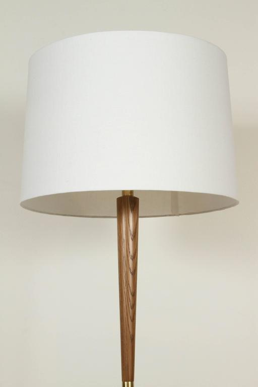 Contemporary El Monte Lamp by Lawson-Fenning in Oak For Sale