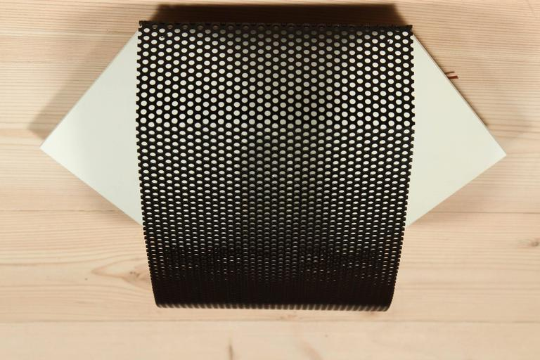 Perforated Hex Sconce by Lawson-Fenning In Excellent Condition For Sale In Los Angeles, CA