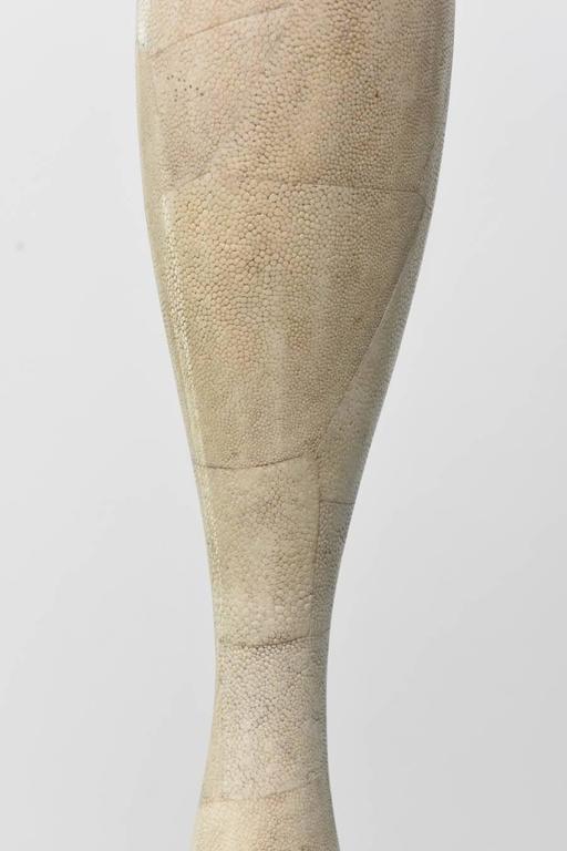 Italian Modern Shagreen Vase, R and Y Augousti For Sale 2