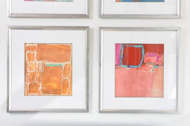 Compositions by renowned artist Doreen Noar, each work unique.