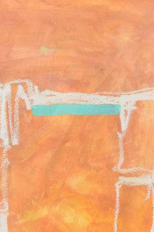 Contemporary Abstract Expressionist Oil, Acrylic, and Watercolor Crayon, Doreen Noar For Sale