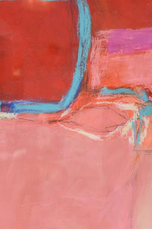 Abstract Expressionist Oil, Acrylic, and Watercolor Crayon, Doreen Noar For Sale 2