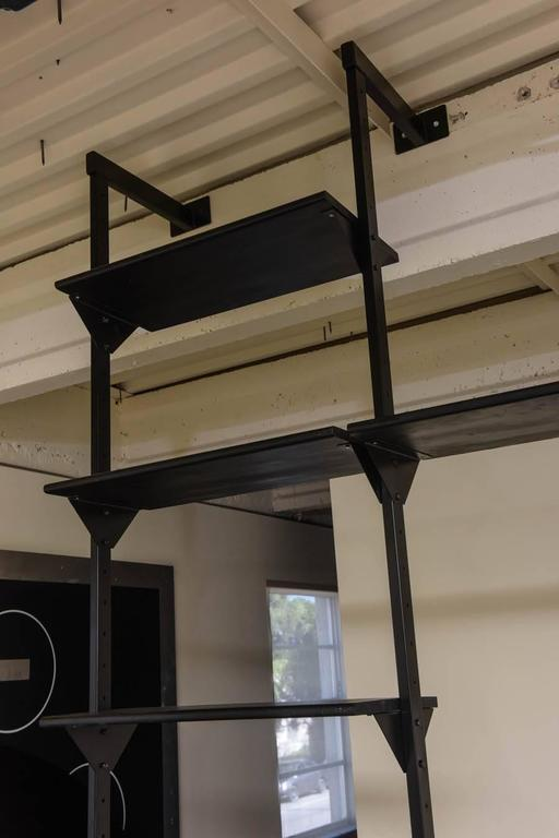 rare italian wallmounted library or shelving system 3
