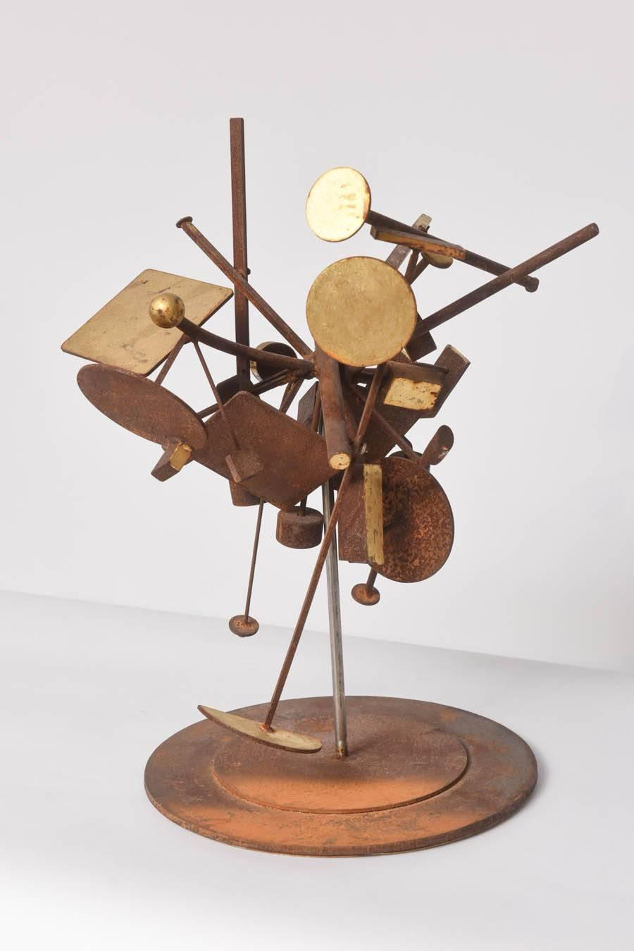 Kinetic Dimensional Works Abstract Expressionism Sculpture For Sale At 1stdibs