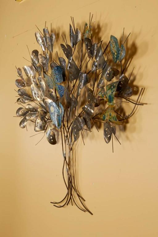 Charming Wall Sculpture by Curtis Jere For Sale 1