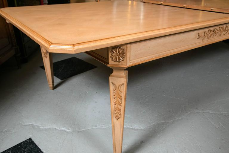 Monumental Louis XVI Style Blonde Wood Dining Table For  : IMG0840l from www.1stdibs.com size 768 x 512 jpeg 36kB