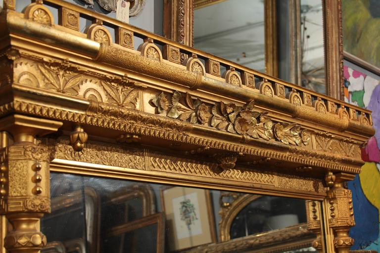 Gilt Mirror For Sale 4