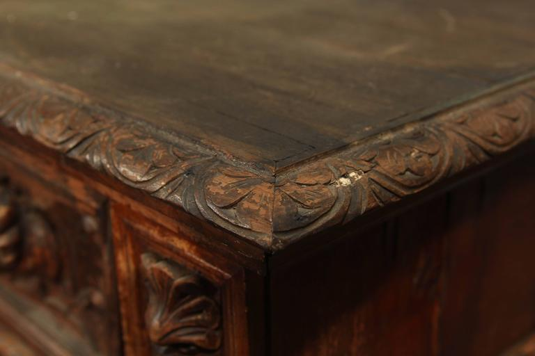 Hand-Carved Highboy or Chest 7