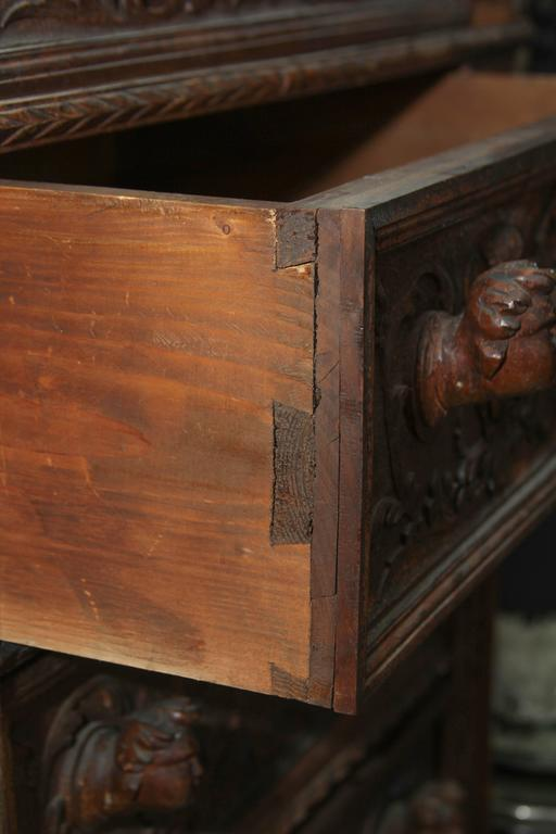Hand-Carved Highboy or Chest 9