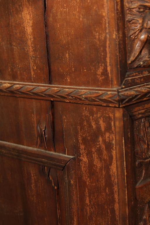 Hand-Carved Highboy or Chest 10