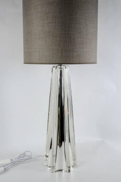 Beautiful Pair of Eglomized Table Lamps 2