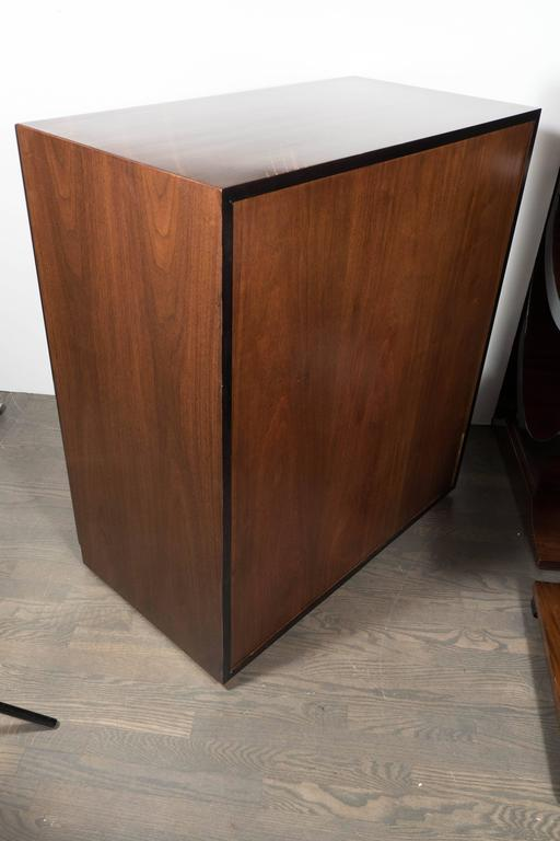 Mid-Century Modern Chest in Two-Tone Walnut by Robsjohn-Gibbings for Widdicomb For Sale 1