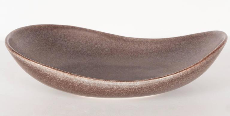 Mid-Century Modernist Ovoid Bowl by Carl-Harry Stålhane for Rörstrand For Sale 2