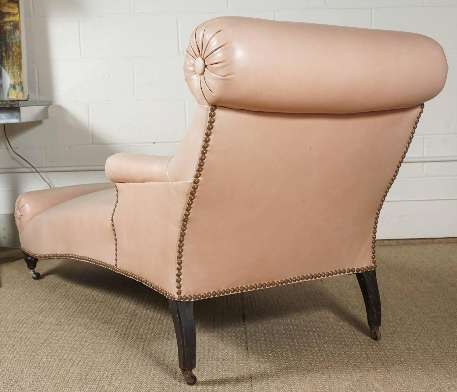 napoleon iii double bolster chaise for sale at 1stdibs. Black Bedroom Furniture Sets. Home Design Ideas