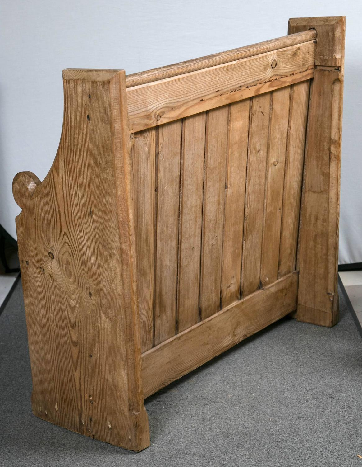 Antique Englsih Church Pew For Sale At 1stdibs