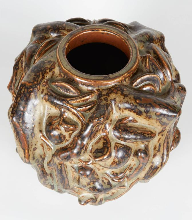 Danish 'Summer' Vase, Axel Salto, circa 1950 For Sale