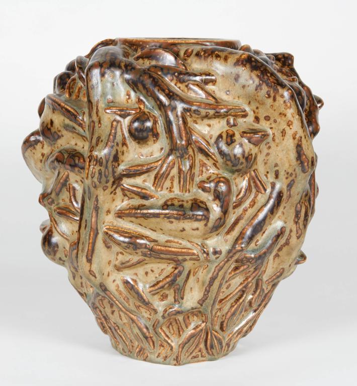 'Summer' Vase, Axel Salto, circa 1950 For Sale 2