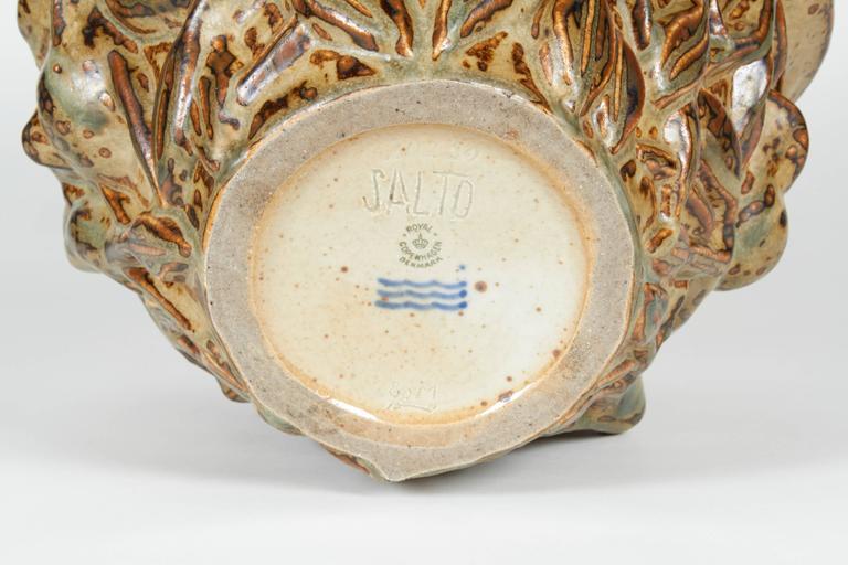 'Summer' Vase, Axel Salto, circa 1950 For Sale 3