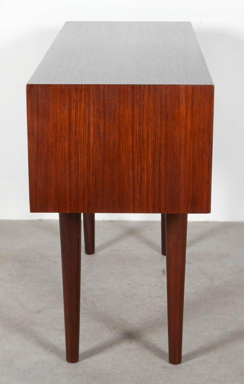 Mid Century Rosewood Side Table by Kai Kristiansen 5