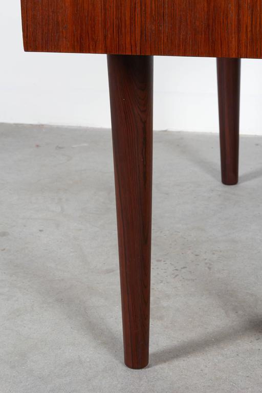 Mid Century Rosewood Side Table by Kai Kristiansen 6