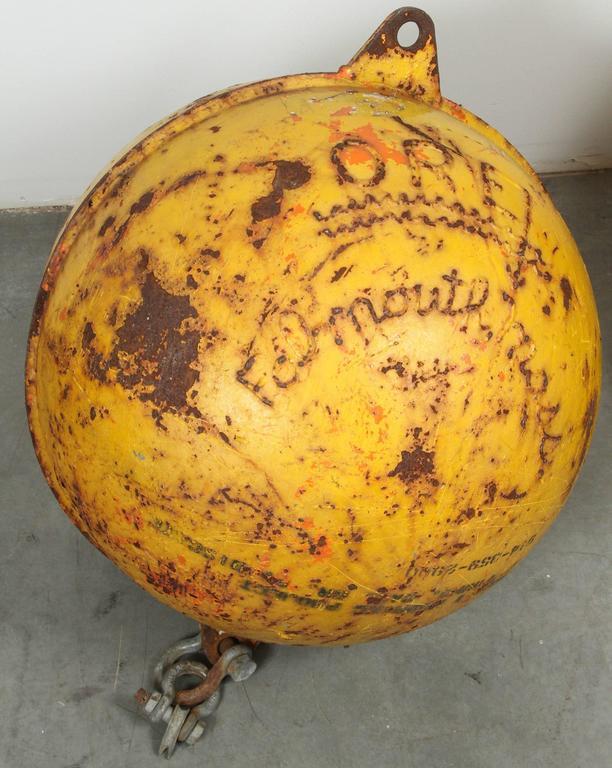 Early 20th Century Cape Cod Cast Iron Nautical Ocean Buoys For Sale 1