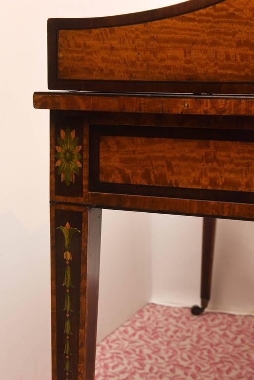 Fine 19th Century English Adam Style Carlton House Desk For Sale 3