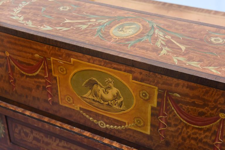 Fine 19th Century English Adam Style Carlton House Desk For Sale 6