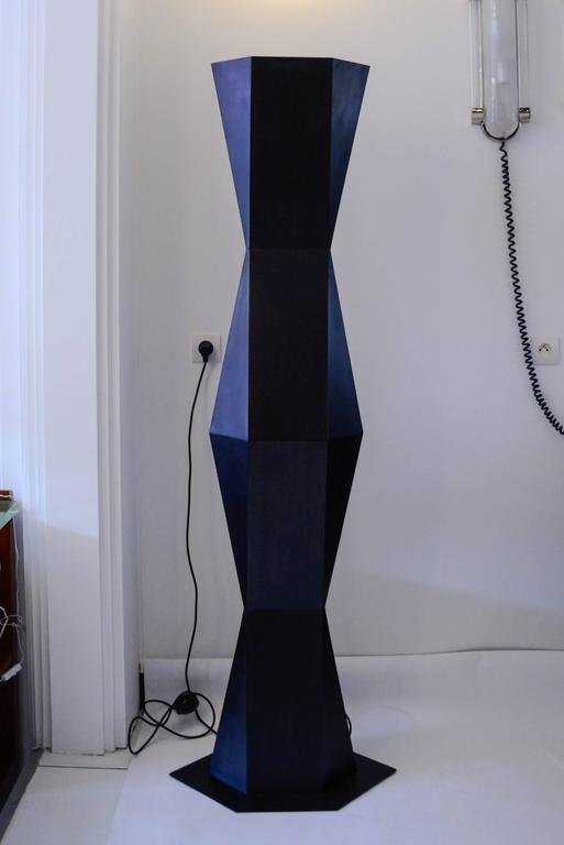 Pair of Floor Lamps TOTEM by Stephane Ducatteau 9