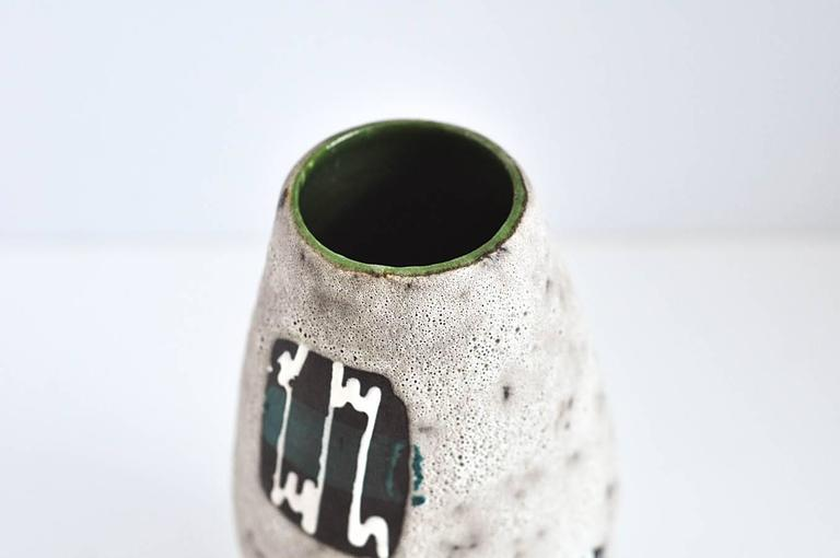 Late 20th Century 1970s West German Ceramic Vase by Scheurich Keramik Co. For Sale
