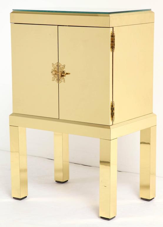 Brass Clad Cabinet 2