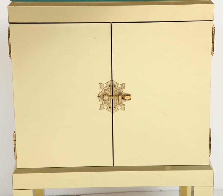Brass Clad Cabinet 3