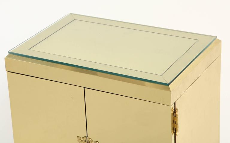 Brass Clad Cabinet 4
