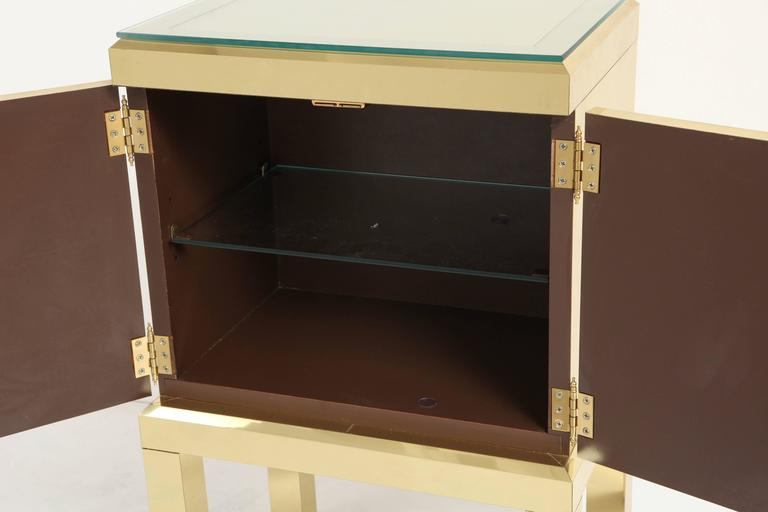Brass Clad Cabinet 6