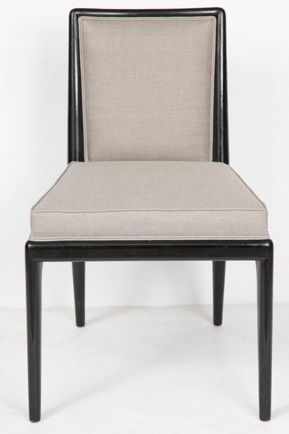 have lived black lacquer dining room chairs make