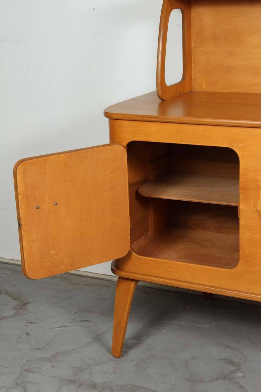 Jordan Dresser Knock Off: Thaden Jordan Bentwood Buffet For Sale At 1stdibs