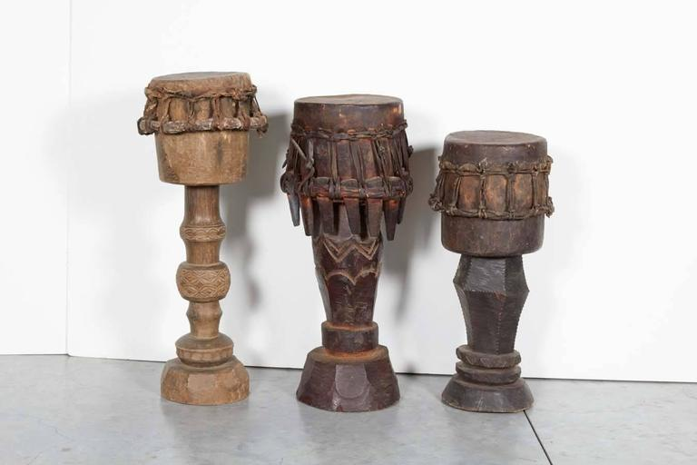 Indonesian Sumba Ceremonial Drums For Sale