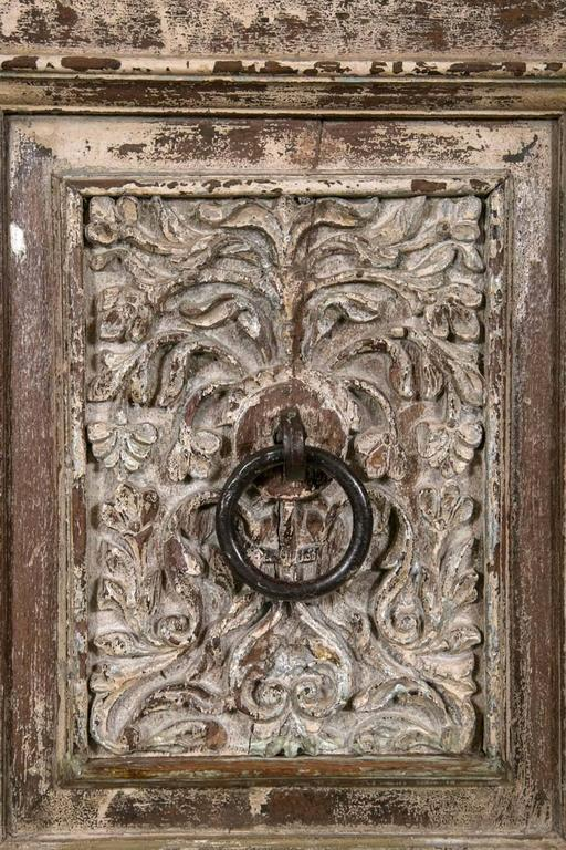 Vintage Set of 20th Century Unique Carved Doors For Sale 1