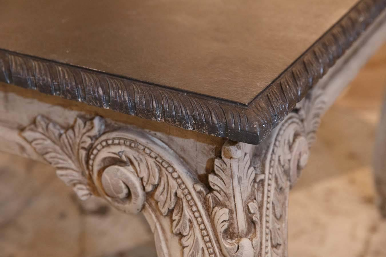 how to clean faux marble table top