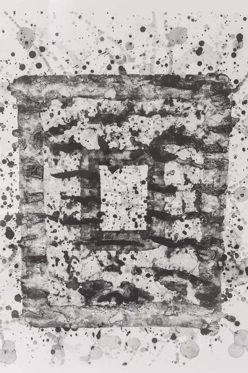 Modern Sam Francis Lithograph Untitled 'SF-201,' 1975 For Sale