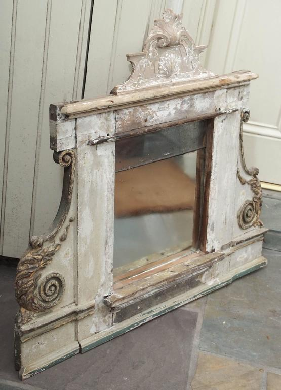 Mercury Glass Mirror, French For Sale 1