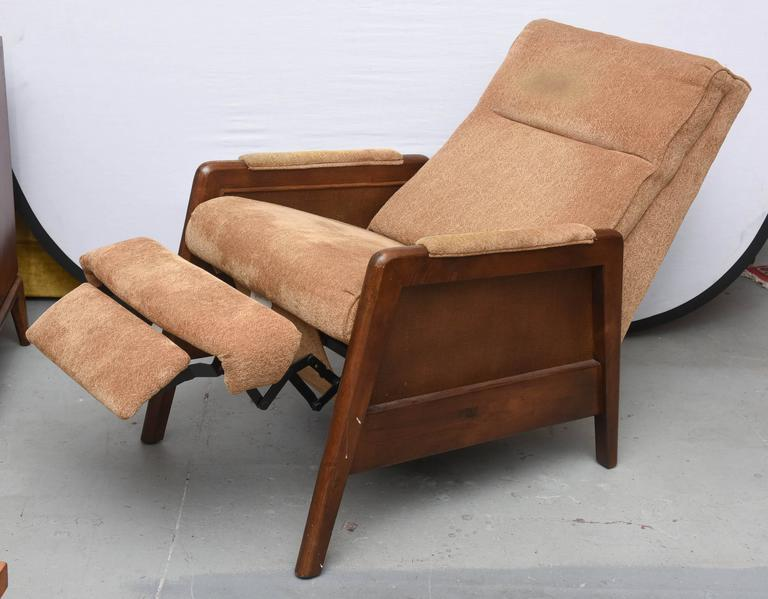 Pair Of Lane Recliners Usa 1970s For Sale At 1stdibs
