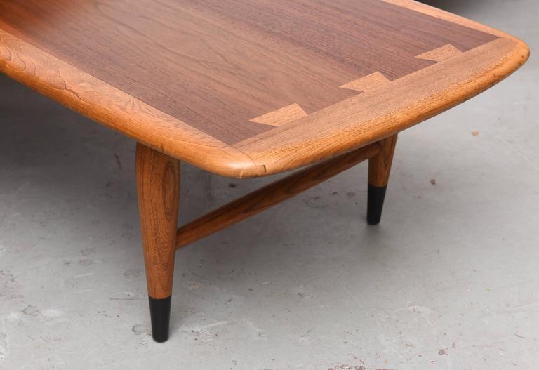 Lane Acclaim Series Switch Blade Pivoting Coffee Table 1960s Usa