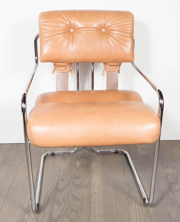 Hotel Collection Ladder Stitch: Mid-Century Modern Set Of Six Tucroma Dining Chairs By
