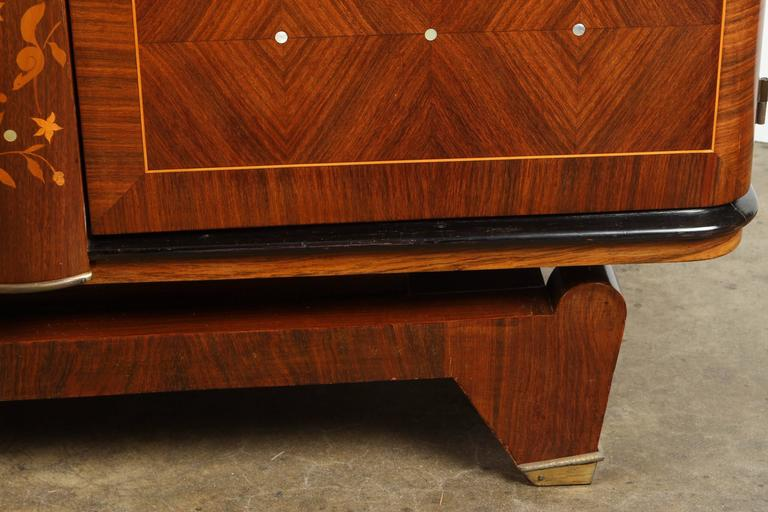 20th Century Andre Leleu Art Deco Rosewood Sideboard For Sale